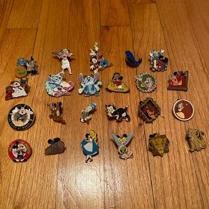 Huge bundle of Disney pins